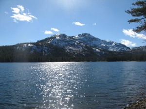 This is Donner lake, just outside of Reno, Neveda